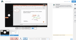 share powerpoint in streamyard